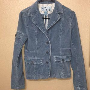 NWOT Roxy corduroy blazer size small